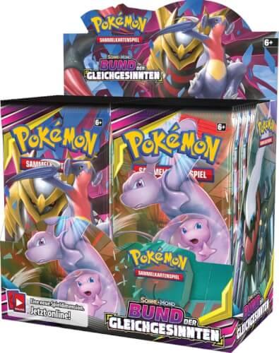 Pokémon Sonne & Mond 11 Bund der Gleichgesinnten Boosterpack