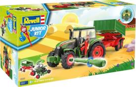 REVELL Junior Kit Traktor & Anhänger mit Figur