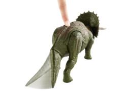 Mattel GDT42 Jurassic World Dino Rivals Doppel-Attacke Triceratops