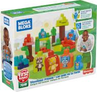 Mattel GMB63 Mega Bloks Waldfreunde Bausteine (70 Teile)