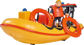 Simba Sam Neptune, Boot mit Figur