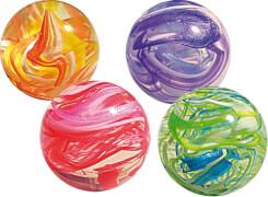 Flummi farblich sortiert Murmeloptik ca. 3 cm
