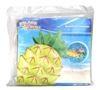 Splash & Fun Badeinsel Ananas,  Luftmatratze, ca. 154x88x21 cm, ab 5 Jahren
