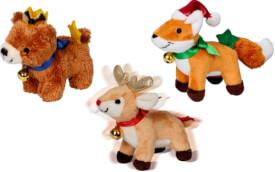 Reh,Fuchs & Bär zum Aufziehen Weihnachtsgeschenke für Kinder,sortiert nicht frei wählbar
